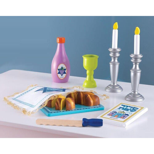 Jewish Religious Tradition Children's Pretend Play Set - Shabbat Set