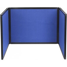 36'' High x 99'' Long with 36''H x 33''L Panel Tabletop Display - Fabric