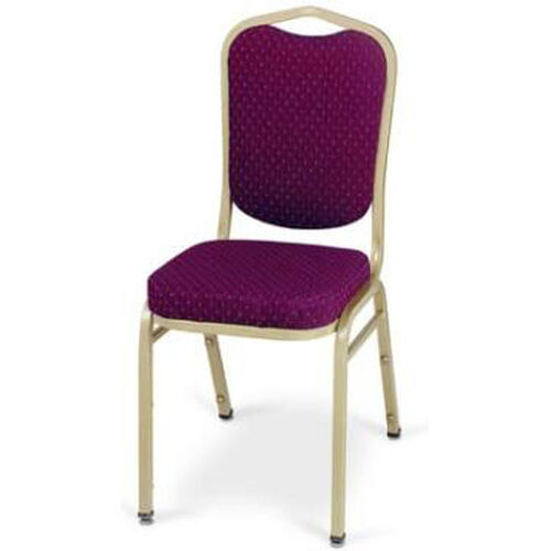 Prestige Banquet Stack Chair with Waterfall Style Seat - Square Open Back
