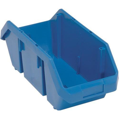 7''H Quick Pick Double Sided Bin - Blue