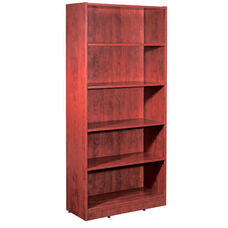 Cherry 70.75''H Bookcase