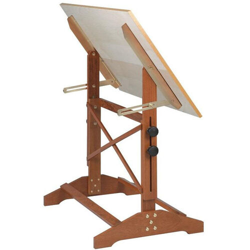 Pavillion Art and Drawing Table Unfinished Wood Top - 36''W
