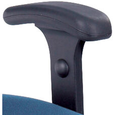 Adjustable Height T-Pad Armrest Kit for Uber™ Big and Tall Chairs - Black