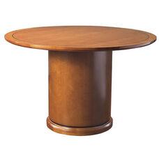 OSP Furniture Mendocino Hardwood Veneer 48'' Round Table