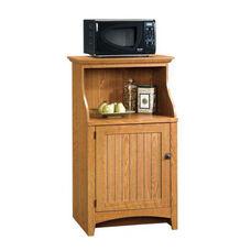 Select Collection 47.5''H Gourmet Stand with Adjustable Shelf - Carolina Oak
