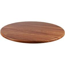 Duratop Outdoor 24'' Round Table Top - Teak