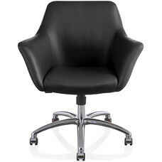 Papillion Quick Ship Mid Back Conference Chair with Swivel Tilt Control