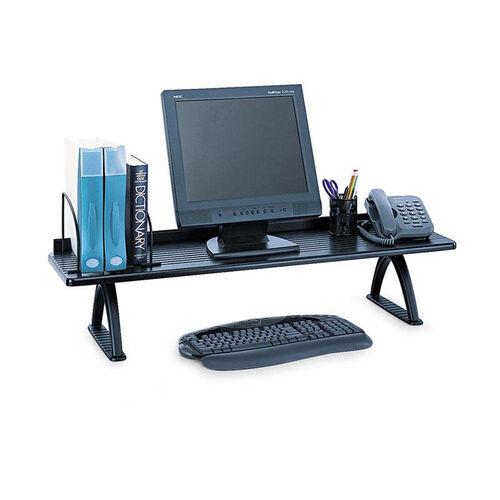 Safco® Value Mate Desk Riser - 100-Pound Capacity - 42 x 12 x 8 - Black