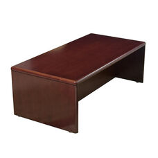 OSP Furniture Sonoma Wood Coffee Table - Cherry