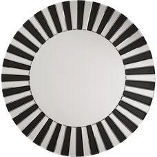 OSP Designs Jazz Note Round Wall Mirror