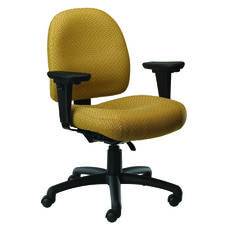 Pearl II 400 Series Medium Back Multiple Shift Adjustable Swivel and Seat Height Task Chair