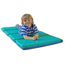 Vinyl 2'' Thick Foldable DayDreamer Rest Mat - Blue and Teal
