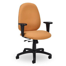 Advent 300 Series High Back Single Shift Adjustable Swivel and Seat Height Task Chair