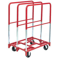 Steel Frame Panel Mover with Extra Tall Uprights and 5'' Phenolic Casters