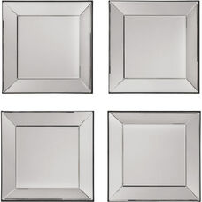 OSP Designs Time Square 4 Piece Wall Mirror Set