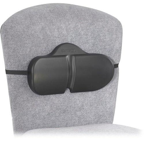 SoftSpot® 14'' W x 2.5'' D x 8'' H Lumbar Roll Backrest - Set of Five - Black