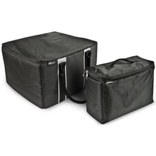 Portable File Tote with One Cooler Bag