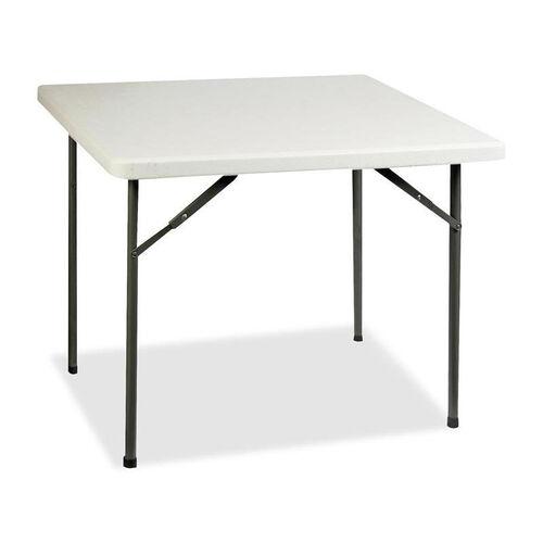 Lorell Banquet Table - 250 lb Capacity - 36''W x 36''L x 29''H - Platinum