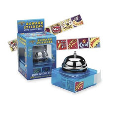 Pacon Rewards Success Bell Sticker Dispenser - 1'' x 1'' - 200 Stickers