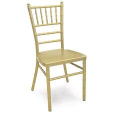 Chiavari 36''H Aluminum Frame Stackable Chair - Gold