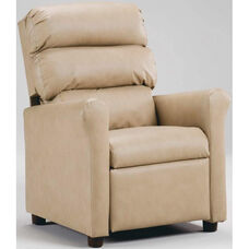Kids Recliner with Waterfall Back