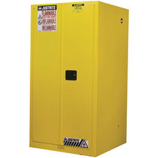 Sure-Grip® EX Classic 34'' W x 65'' H x 34'' D Safety Cabinets for Flammables with 2 Manual Doors - Yellow