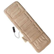 10-Motor Massage Mat with Heat - Beige