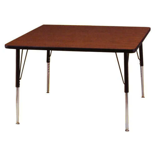 Adjustable Height Square 1.125'' Table