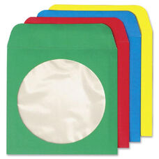Quality Park Colored Cd/Dvd Paper Sleeves - Pack Of 50
