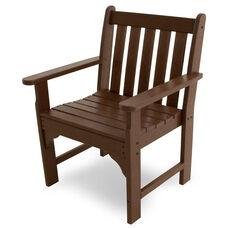 POLYWOOD® Vineyard Garden Arm Chair - Mahogany