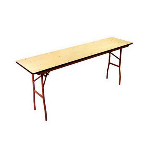 6' Rental Elite Series Folding Conference Table with Non Marring Floor Glides - 18''W x 72''L x30''H