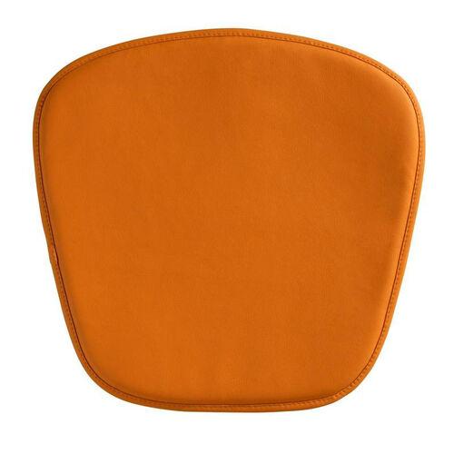 Wire/Mesh Cushion in Orange