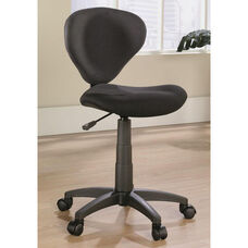Select Collection Deluxe Fabric Task Chair - Black