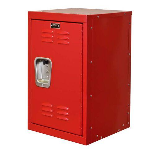 Relay Red Kids Mini Locker Unassembled - 15''W x 15''D x 24''H