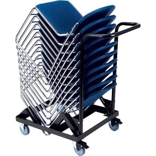 Virtuoso Stack Chair Cart - 25.75''W x 45.5''D x 44.63''H