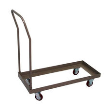 Standard Chair Cart with 4'' Casters for Champ Fanback Series Folding Chairs