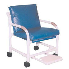 MRI Compatible Transfer Chair with Footrest and Casters