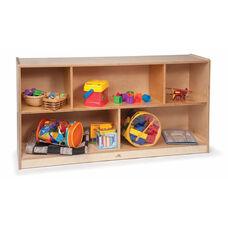 Toddler's Single Storage Birch Laminate Cabinet