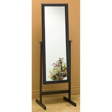 Rectangular 60''H Full-Length Cheval Mirror - Cappuccino