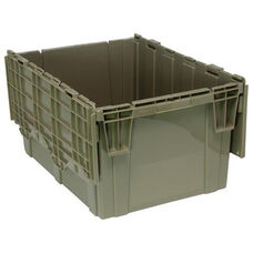 28''D x 20.63''W x 15.63''H Heavy Duty Attached Top Container