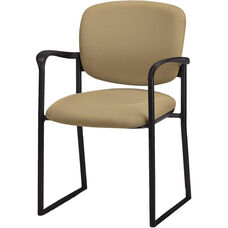 Brylee™ Guest Chair with Sled Base - Black Frame