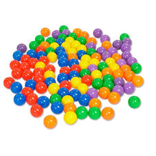 SoftZone® 120 Piece Assorted Colors 2.7'' Diameter Primary Ball Pool Balls
