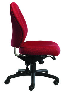 Contour II 400 Series Medium Back Multiple Shift Adjustable Swivel and Seat Height Task Chair