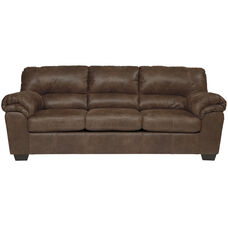 Signature Design by Ashley Bladen Sofa in Coffee Faux Leather