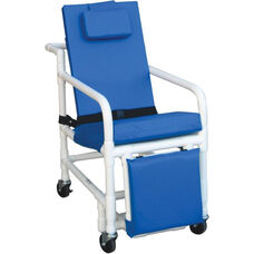 Standard 3-Position Recline Geriatric Chair with Casters