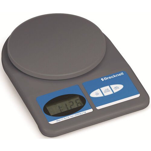 Electronic Office Scale with LCD Display for Letter and Small Parcel Mail - 11 lb Capacity