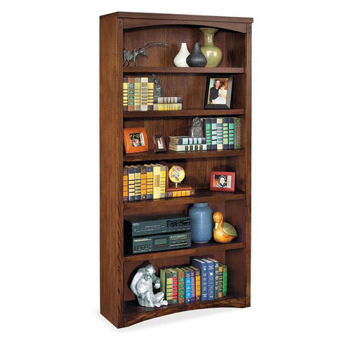 kathy ireland Home™ Mission Pasadena Collection 36''W x 72''H Open Bookcase