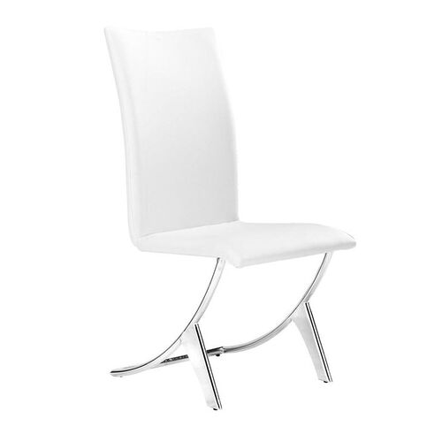 Delfin Dining Chair in White