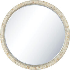 OSP Designs Lille Wall Mirror - White