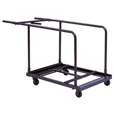 Customizable Edge Load Truck for Round Tables - 30''W x 40''D x 34''H